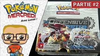 ouverture display pokmon xy11 offensive vapeur 2 cartes incroyables