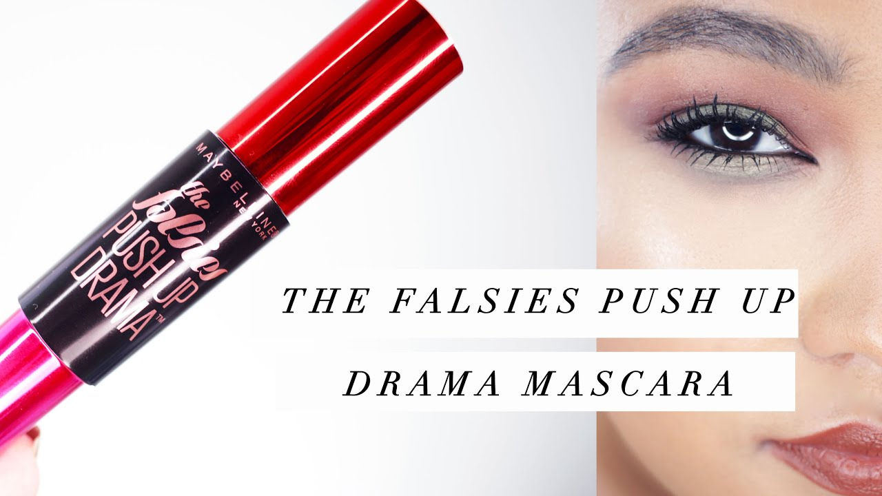 52c2aeaf094 NEW: Maybelline The Falsies Push Up Drama Mascara | Demo/Review ...
