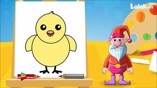 Jak narysować kurczaczka?  Rysuj z Tadziem! I Lulek.tv