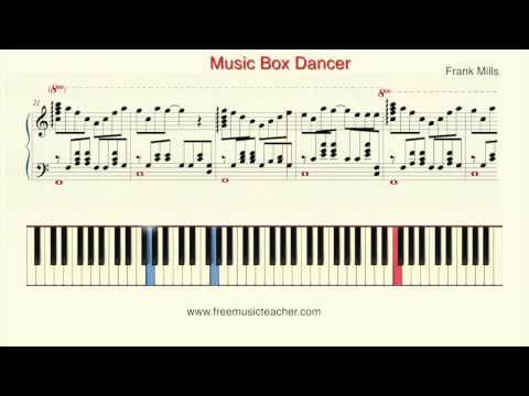 """How To Play Piano: Frank Mills """"Music Box Dancer"""" Piano Tutorial by Ramin Yousefi"""