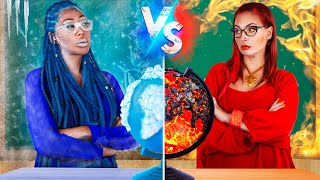 Hot vs Cold  Teacher / 16 DIY Weird College Supplies