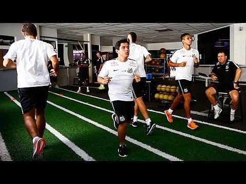 Primeiras avaliações da pré-temporada do Santos FC