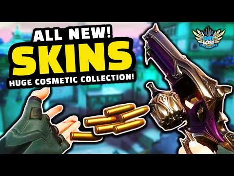 VALORANT - ALL Weapon Skins and Cosmetics EXPLAINED!