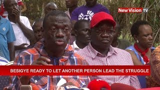 Besigye, who has contested for the presidency four times, said it w...