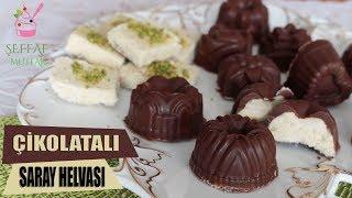 Çikolata Kaplı Pratik Saray Helvası/Şip Şak Hazırlanan Şık İkramlıklar/ŞEFFAF MUTFAK