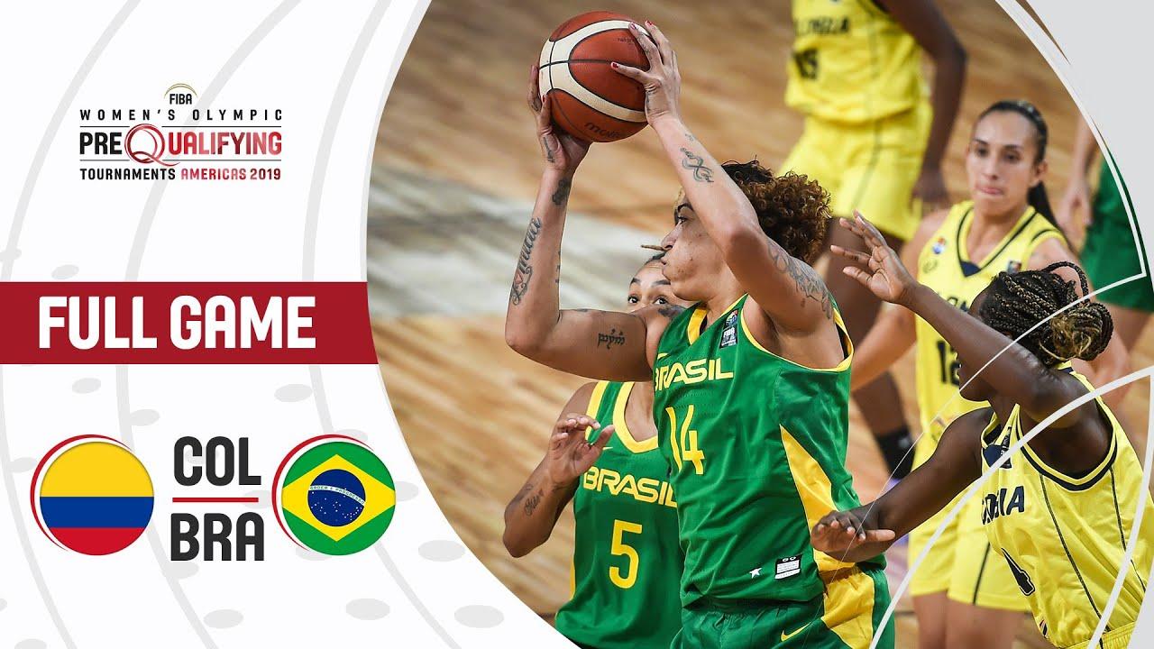 Colombia v Brazil - Full Game - FIBA Women's Olympic Pre