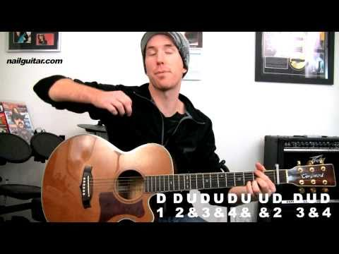 'Teenage Dream' Katy Perry - Acoustic Guitar Lesson (with Tabs) Pt.2