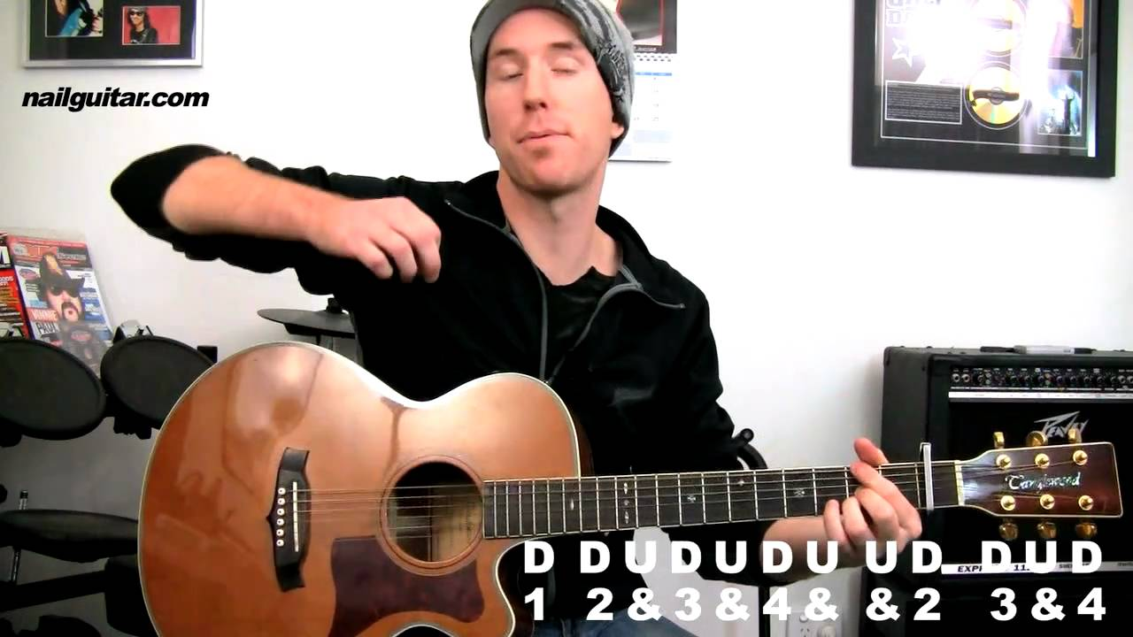 Teenage Dream Katy Perry Acoustic Guitar Lesson With Tabs Pt2