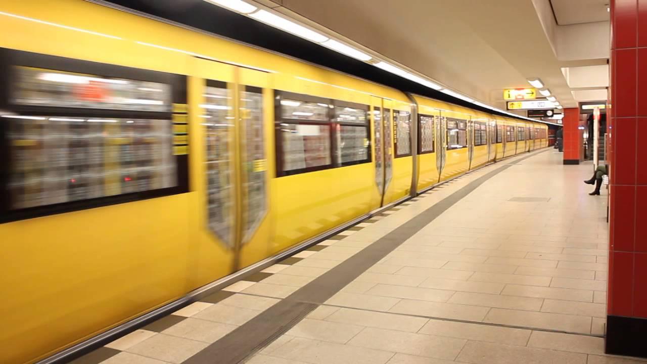 Berlin: Ausfahrt H-Zug 5003 in Osloer Str. (U9) - YouTube