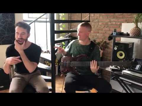 ROADS PART 2 Bass + Vocals Live in Studio with Michael Blume