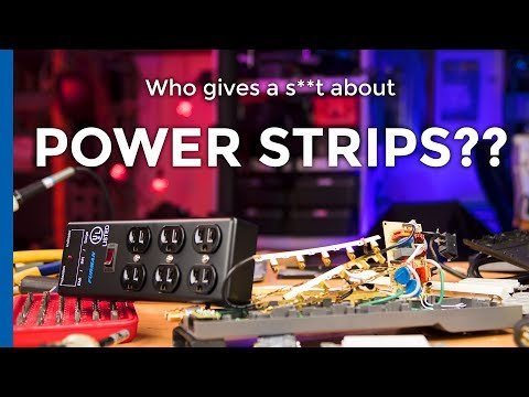 Power Strips Whatever Something Something: Furman SS-6B vs.
