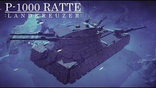 Besiege Build#81 P-1000 Ratte Landkreuzer [TheBesiegeEngineer request]