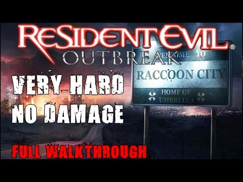 Resident Evil Outbreak Very Hard (Complete Gameplay)