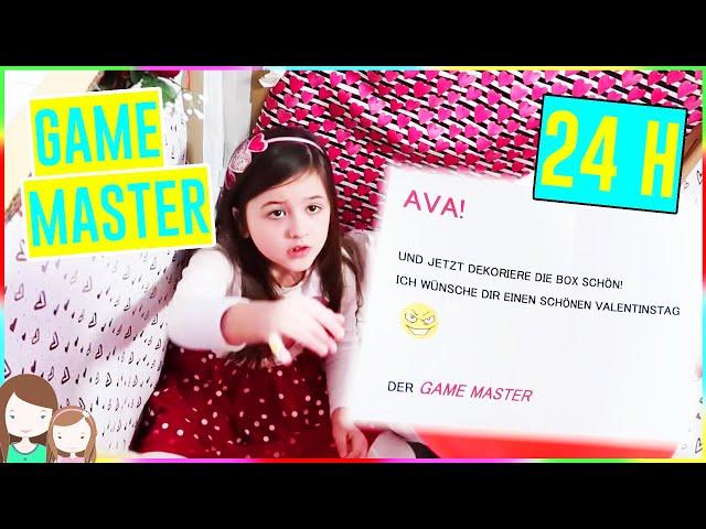 GAME MASTER ZWINGT AVA 24 Stunden in einer Kiste zu bleiben! 24h Game Master Challenge 😱 Alles Ava