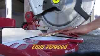 Einhell TH-MS 2112 chop or mitre saw review!