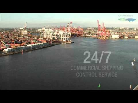 Port of Melbourne Timelapse.wmv