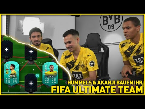 Hummels & Akanji build their FIFA Ultimate Team | BVB x eFootball