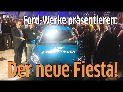 Köln: Serienfertigung des neuen Ford Fiesta