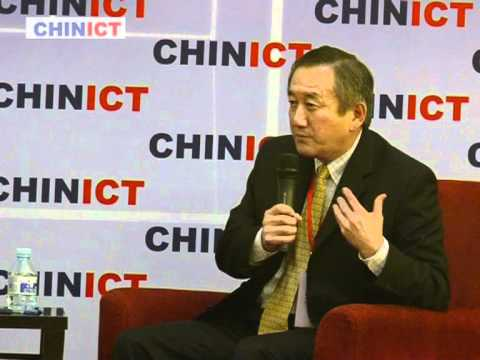 Silicon Valley Bank SVB China chief rep speaks at CHINICT.