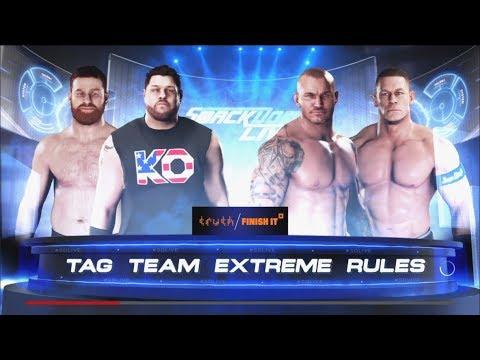 Randy Orton And John Cena Tag Team