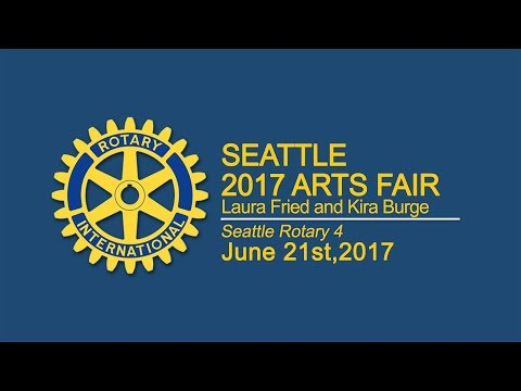 Rotary Luncheon 6-21-17 Seattle Arts Fair