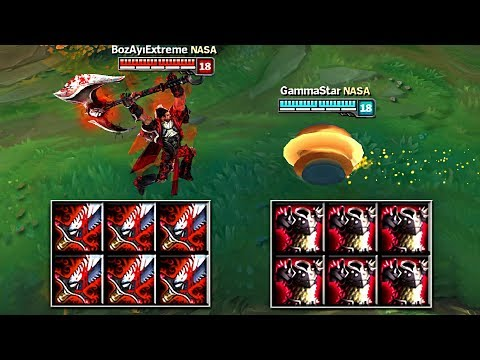 DARIUS vs RAMMUS FULL BUILD FIGHTS & Best Moments!