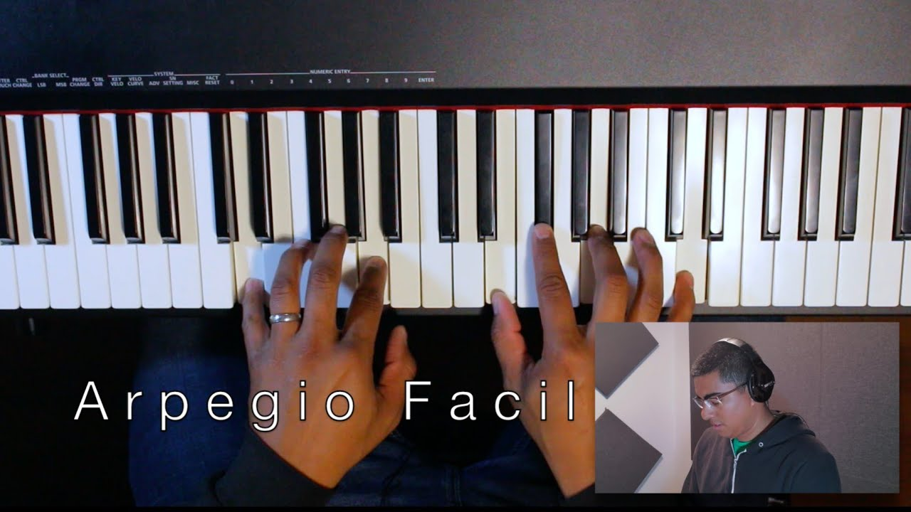 Arpegio Facil (Tutorial Para Piano)
