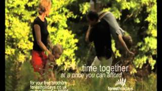 Forest Holidays Cabins TV Advert