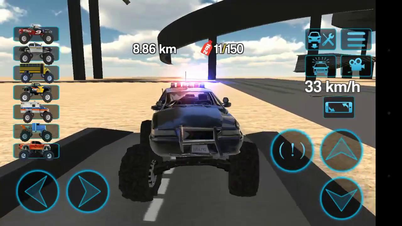 jeux de voiture 4x4 police
