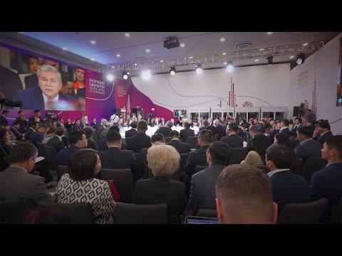 O crescimento sustentável em debate no Fórum Económico de Astana