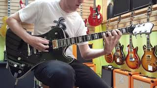 Hagstrom Fantomen electric guitar demo, a signature model of the Swedish band Ghost