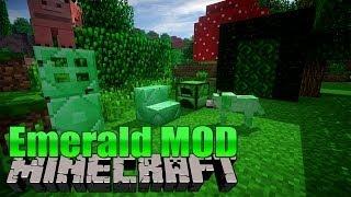 Emerald Mod - Minecraft MOD