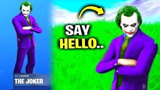 Say Hello To The Joker In Fortnite.. (Batman)