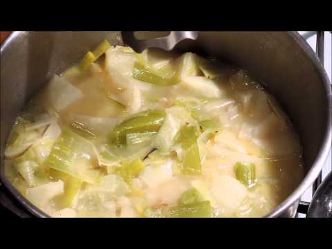 How To Cook Leek And Potato Soup - Episode 34