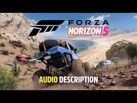 Forza Horizon 5 Official Announce Trailer – English Audio Description