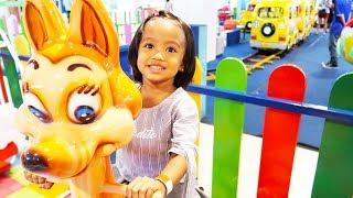 Bahagianya Lintang Akayla Bermain di Playground Anak @Tunjungan Plaza Surabaya