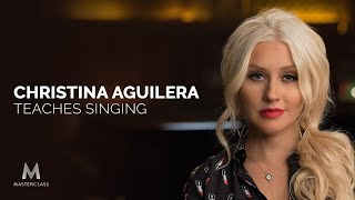 Christina Aguilera Teaches Singing | Official Trailer | MasterClass