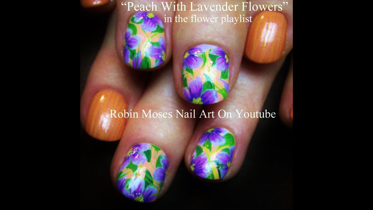 Robin Moses Nail Art February 2015: Nail Art For Short Nails