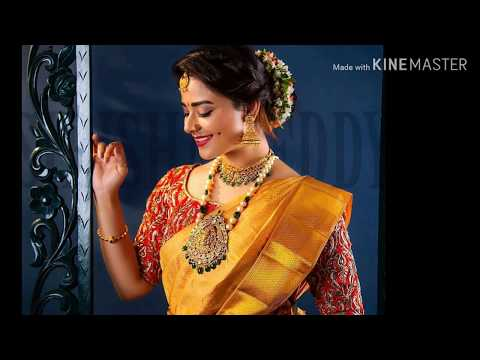 10+ Exclusive Saree Blouse Designs for every South Indian Bride || Udaan Fashion