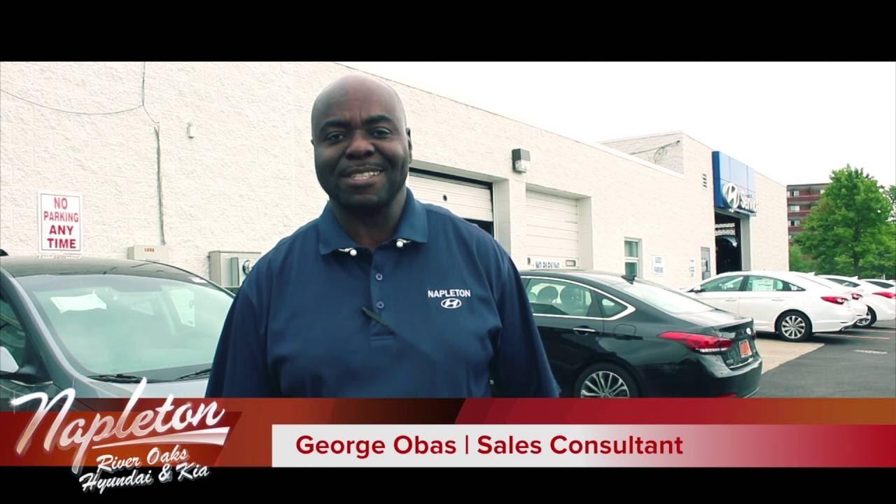 Georg Obas | Napleton River Oaks Hyundai and Kia - YouTube