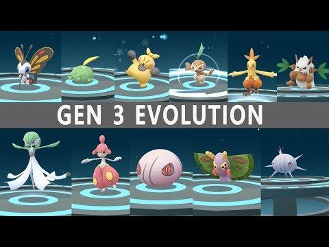 Best of Gen 3 Evolution in Pokemon Go! How to Complete Pokedex in Generation 3