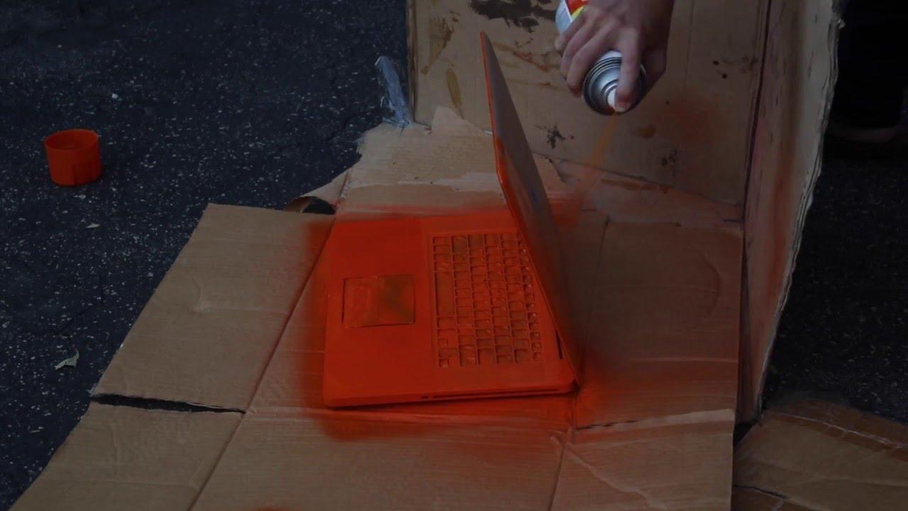 Spray Painting My MacBook Pro