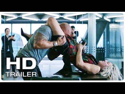 New Trailer of FAST AND FURIOUS 9 Hobbs And Shaw Trailer Released