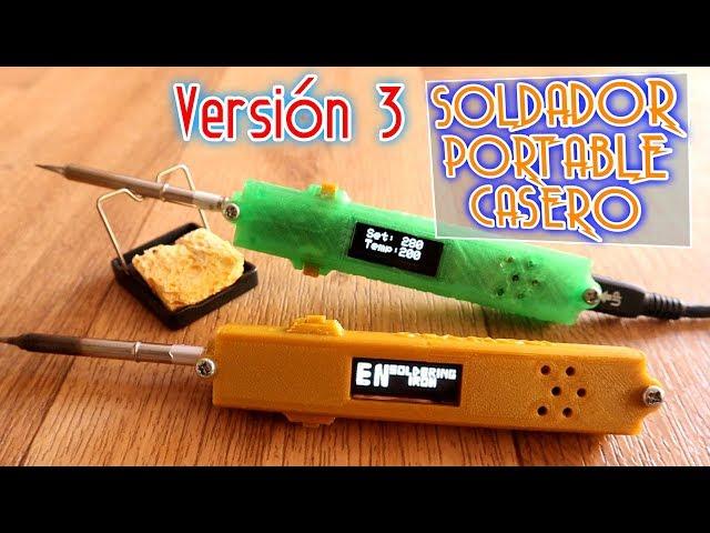 Pr#45 Soldador portable con Arduino - Versión 3.0