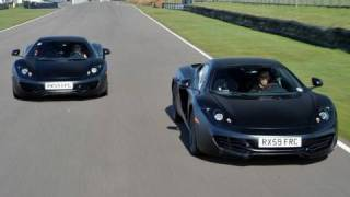 McLaren MP4-12C Driven by F1 Aces Lewis Hamilton and Jenson Button