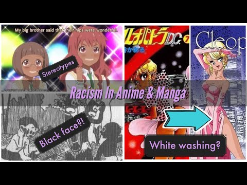 The History Of Misrepresentation Of Black Anime Characters | Racism In Anime