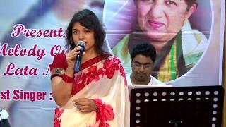 Zara si aahat hoti hai by Vinita Sawant at Jashn Lata Special