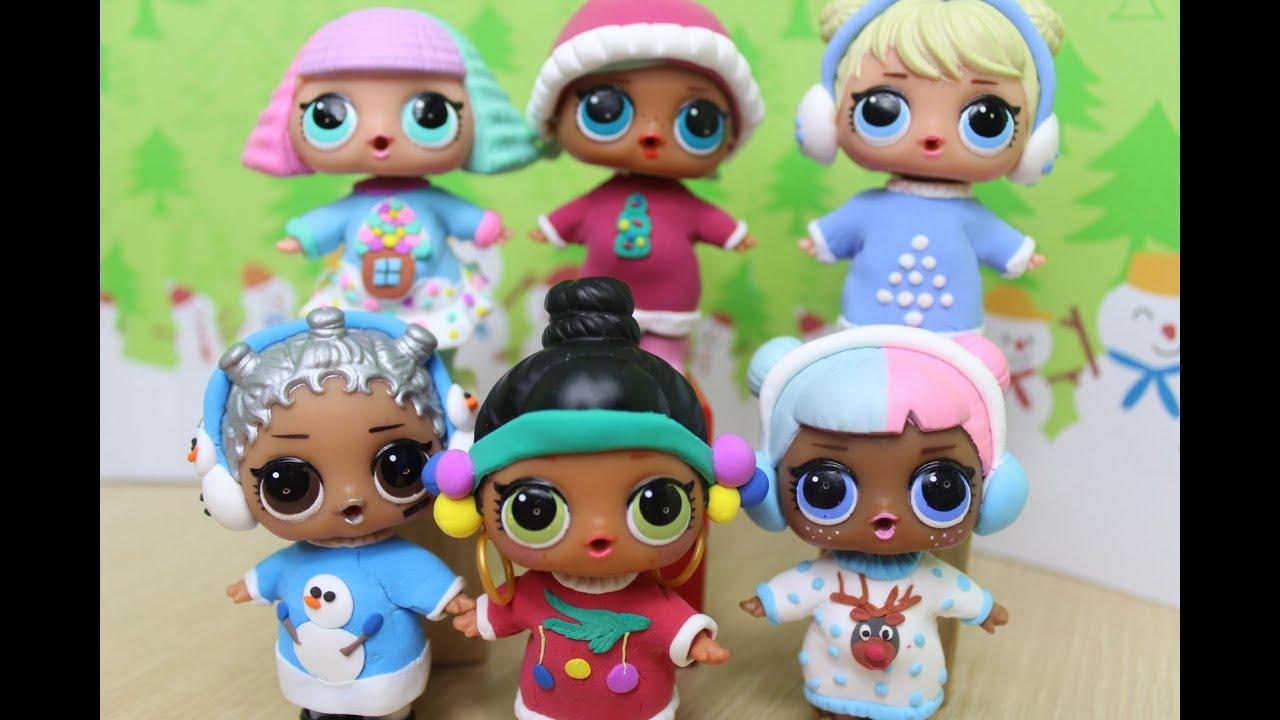 Куклы ЛОЛ.👗 Как сделать одежду для куклы LOL Surprise.DIY ...