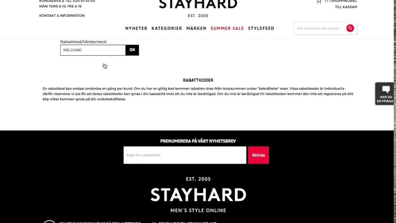 aa901b699871 Stayhard rabattkod - Få 39:- rabatt i juli 2019 - Aftonbladet
