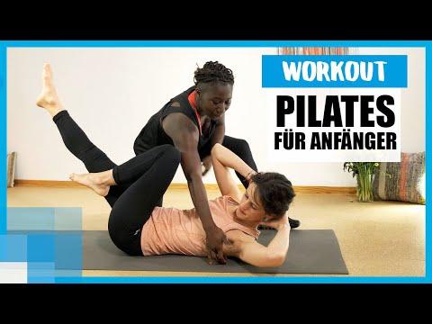 Pilates-Workout für Anfänger: 10 Minuten Core-Training mit Juliana ⚡️